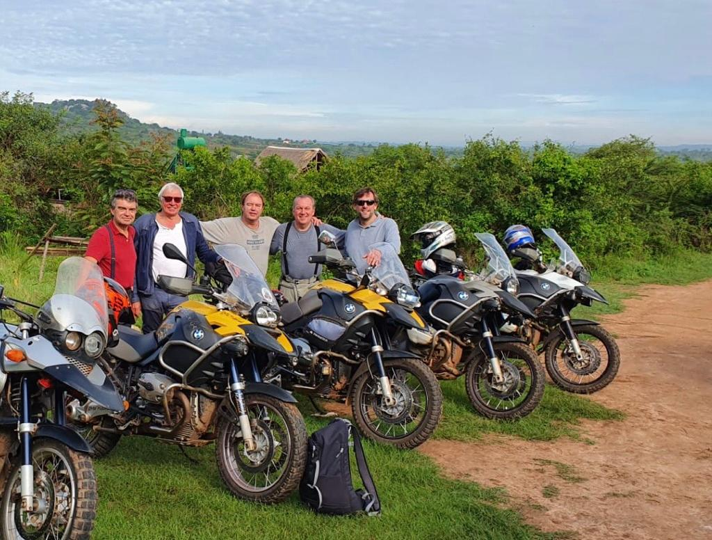 1st Day of Motorcycle Adventure tour in Uganda