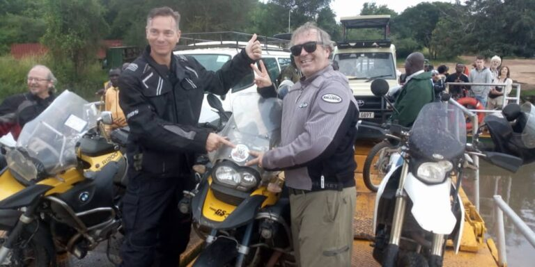 3rd Day's of Motorcycle Adventure tour in Uganda